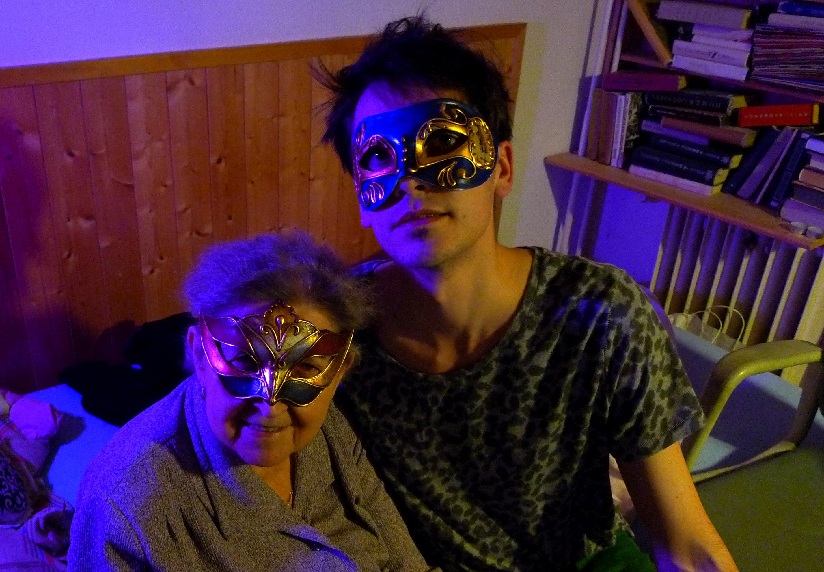 Ondra Macl a jeho babička